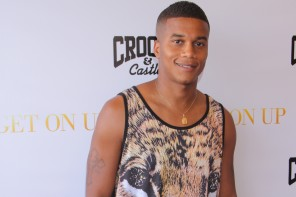 Cory Hardrict, D. Woods & More Attend 'GET ON UP' x CROOKS & CASTLES LAUNCH EVENT